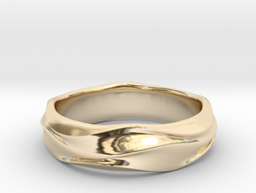 no.89 in 14k Gold Plated Brass: 3 / 44
