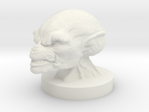 PumpkinHead Bust in White Strong & Flexible