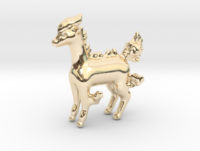 Ponyta in 14K Yellow Gold