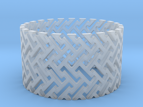 Woven Ring (Size 11.25-13) in Smooth Fine Detail Plastic: 11.25 / 64.625