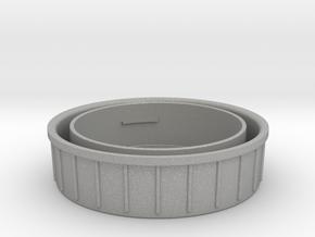 Topcon/Exakta Rear Lens Cap in Aluminum