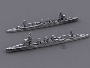 IJN CL Nagara [1942] in White Natural Versatile Plastic: 1:1800
