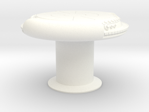 YT1300 1/12 SCALE DEJARIKK TABLE  in White Processed Versatile Plastic