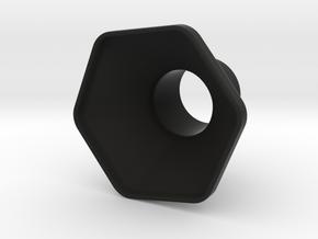 Aeropress Funnel in Black Natural Versatile Plastic