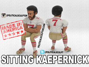 Sitting Kaepernick Large in Full Color Sandstone