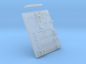 Control Display Part 2 in Smooth Fine Detail Plastic