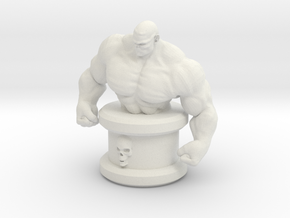 HeroesTCG Abominus Mini Bust in White Natural Versatile Plastic