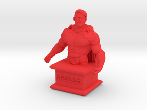 HeroesTCG.com Apollo Micro Bust in Red Processed Versatile Plastic