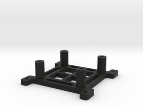 Hendheld Akku/Adapter Plate in Black Natural Versatile Plastic