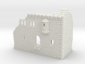 NF51 Ruined Castle in White Natural Versatile Plastic