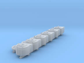 1:20 20mm Spare Magazines in Smooth Fine Detail Plastic