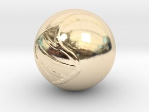 Mega Stone in 14K Yellow Gold