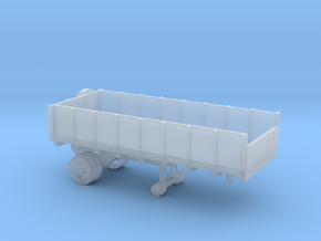 1/144 Scale Cargo Trailer 1 in Smooth Fine Detail Plastic