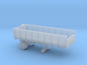 1/110 Scale Cargo Trailer 1 in Smooth Fine Detail Plastic
