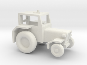 1/144 Scale Air Force Tow Tractor in White Natural Versatile Plastic