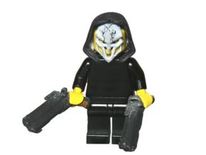 Custom Reaper Overwatch Inspired Lego in White Strong & Flexible