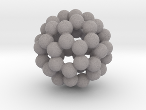 C60-buckminsterfullerene (small) in Full Color Sandstone