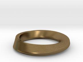 Mobius in Natural Bronze