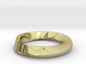 Mobius in 18K Gold Plated