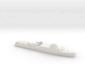 Ouragan-class LPD, 1/3000 in White Natural Versatile Plastic