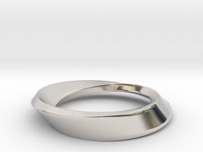 Mobius Large in Platinum