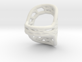 RingSplint US Size-6 in White Natural Versatile Plastic