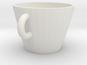 Cup in White Strong & Flexible: Extra Small