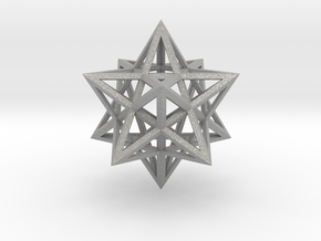 Stellated Dodecahedron in Aluminum