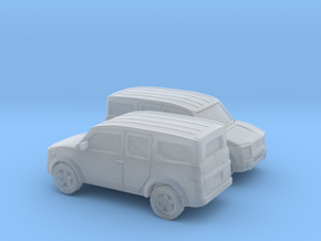 1/160 2X  2002-07 Honda Element in Smooth Fine Detail Plastic