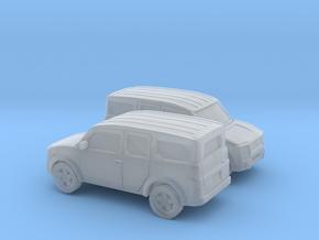 1/160 2X  2002-07 Honda Element in Smooth Fine Detail Plastic