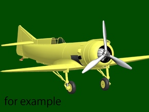 Marcoux-Bromberg Special (1939), scale 1/144 in Frosted Extreme Detail