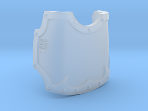 Knight - Right Hand Blank Claw Cover in Smooth Fine Detail Plastic