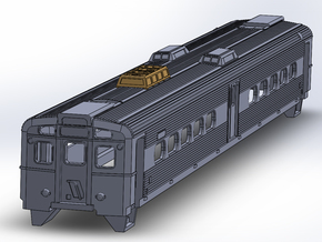 NJ Transit Arrow III (N Scale) in White Natural Versatile Plastic