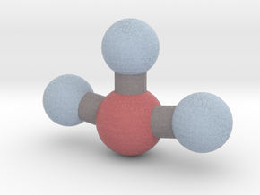 Bromine Trifluoride (BrF3) in Full Color Sandstone