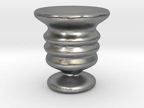 Tiny Vase in Natural Silver