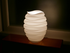 Table Lamp_STL No.2 in White Strong & Flexible