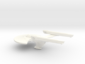 Smooth Hornet Mk III 2500 in White Processed Versatile Plastic