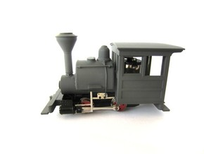 009 Porter - All Parts in Smooth Fine Detail Plastic