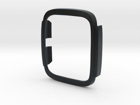 Asus Zenwatch 2 Bumper case in Black Hi-Def Acrylate: Large