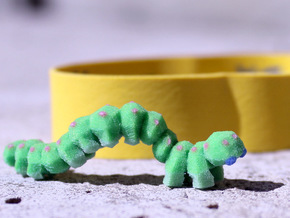 Akira (the Caterpillar) in Full Color Sandstone