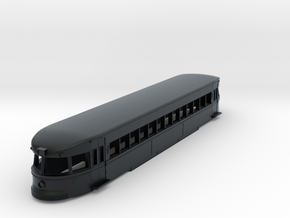 N Scale Brill Bullet Body Shell in Black Hi-Def Acrylate