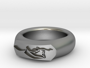 Dragon Ring in Raw Silver