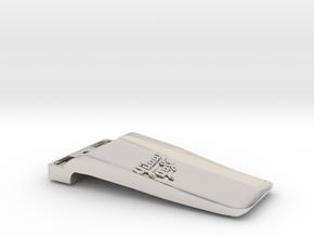 Boss FA-1 / MA-1 Belt Clip in Rhodium Plated Brass