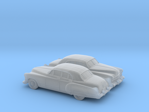 1/160 2X 1949-52 Cadillac Series 62 Sedan in Smooth Fine Detail Plastic