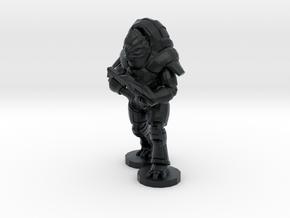 Benjamin Fauxgan, 28mm in Black Hi-Def Acrylate