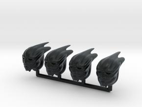 Spurian Headswaps 28mm Heroic in Black Hi-Def Acrylate