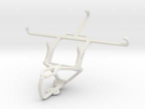 Controller mount for PS3 & alcatel Flash Plus 2 in White Natural Versatile Plastic