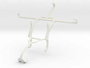 Controller mount for Xbox 360 & alcatel Flash Plus in White Natural Versatile Plastic