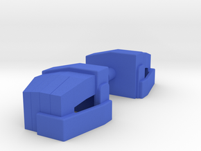 Arden Robo Fist Replacements in Blue Processed Versatile Plastic