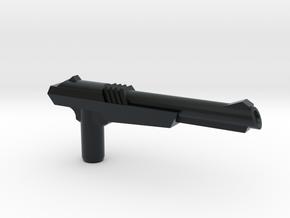 NES Inspired Zapper Gun w' 5mm Grip in Black Hi-Def Acrylate: Large